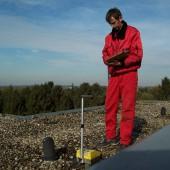 Messung mit der Neutronensonde