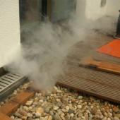 Rauchgas Austritt