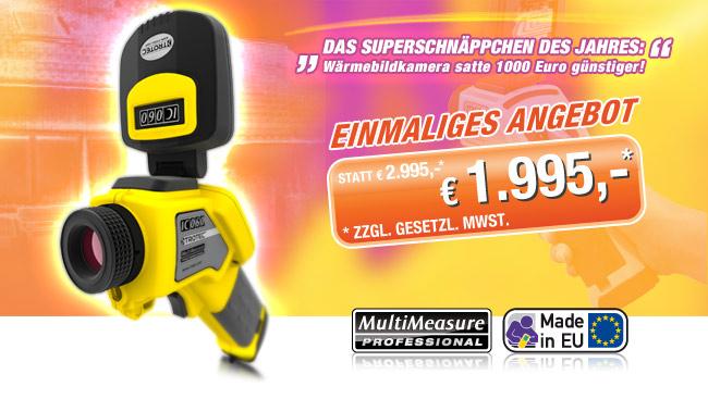 Wärmebildkamera IC60 - jetzt 1.000 Euro sparen