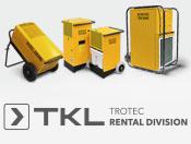 Luftentfeuchter der TTK Profi-Serie günstig bei TKL mieten