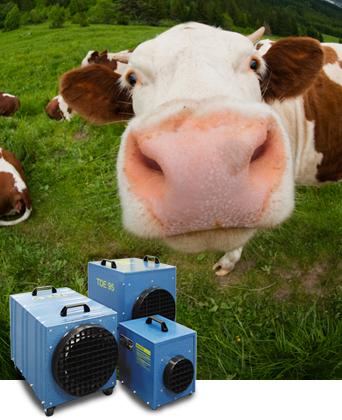 TDE Elektroheizer für die Landwirtschaft