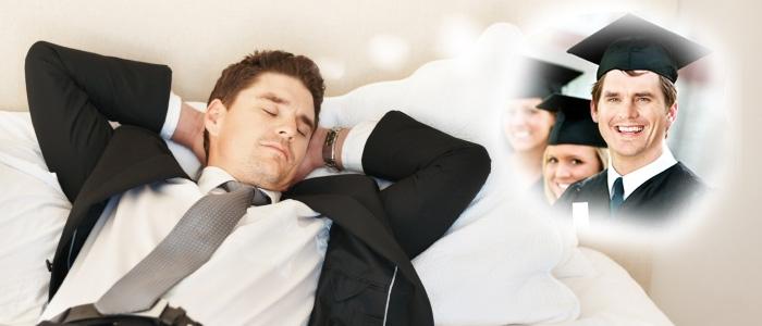 Viel schlafen für ein besseres Gedächtnis