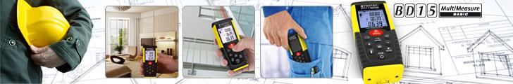 Machen Sie Schluss mit den Vorurteilen über Handwerker - mit dem Entfernungsmesser BD 15 von trotec