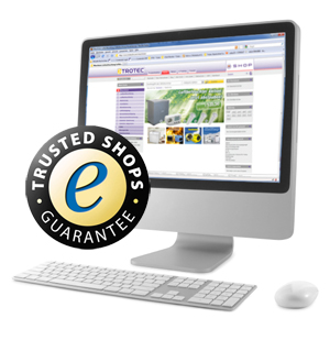 Der trotec24.com online shop - ausgezeichnet mit dem Trusted Shops Gütesiegel