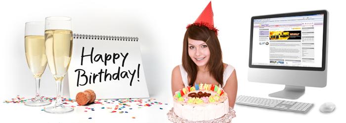 Happy Birthday! Der Trotec24 Online Shop wird 3