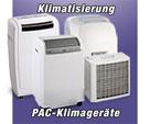 Mobile Klimageräte der PAC-Serie