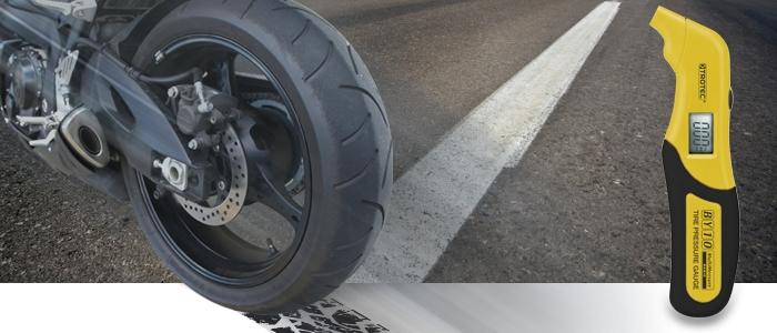 Sicherheit auf dem Motorrad mit dem richtigen Reifendruck
