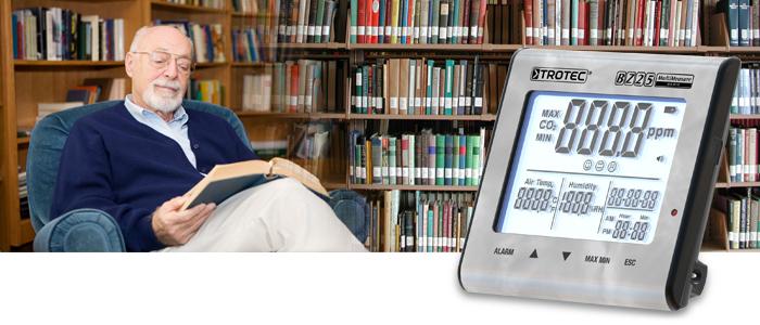 BZ 25 CO2 Luftqualitätsmonitor im Trotec Online Shop