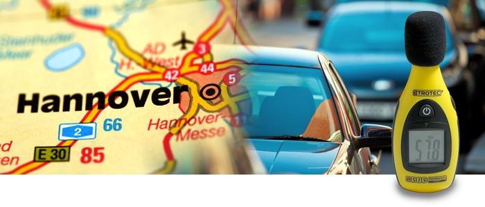Lärmpegel Hannover
