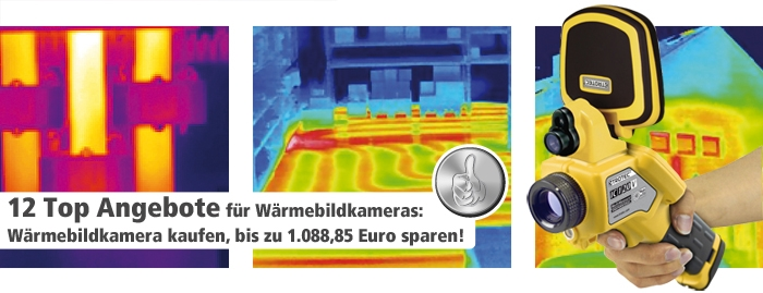 Thermografie Aktion Wärmebildkameras supergünstig