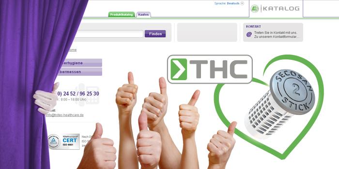Trotec HealthCare neuer Online-Shop