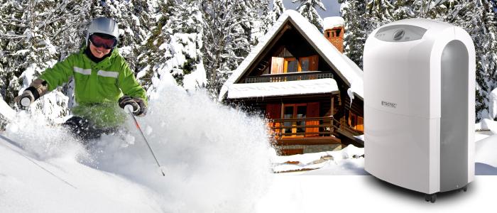 Lufttfeuchtigkeit auf Skihütten