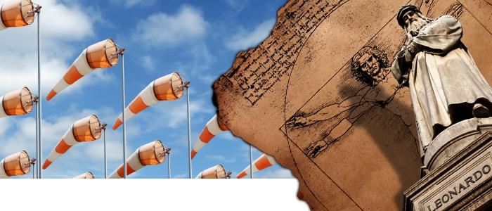 Anemometer Leonardo da Vinci
