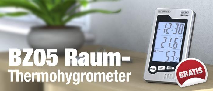 Thermohygrometer BZ05 gratis