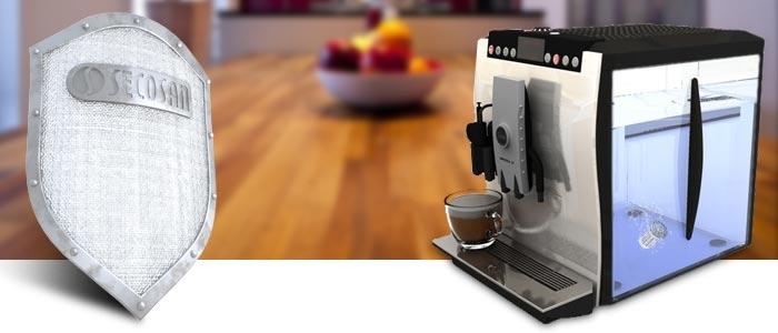 Secosan Keimschutz für die Kaffeemaschine