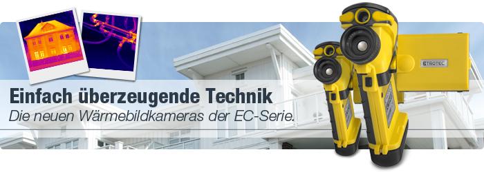 Die neuen Wärmebildkameras der EC-Serie