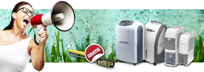 Luftentfeuchter plus gratis Bratenthermometer