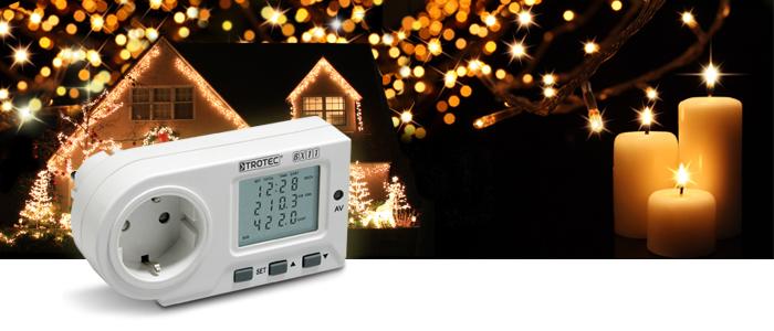 Weihnachtsbeleuchtung Energiekosten messen
