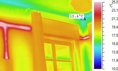 Infrarot Wärmebild Wärmedämmung
