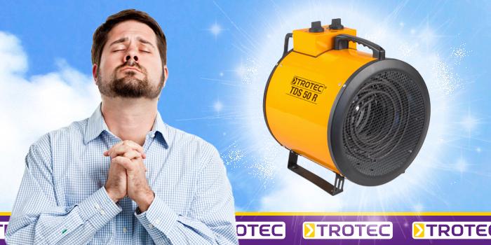 Neuheit: Der Trotec Elektroheizer TDS 50 R