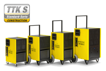 Gewerbe-Luftentfeuchter der TTK-S-Serie