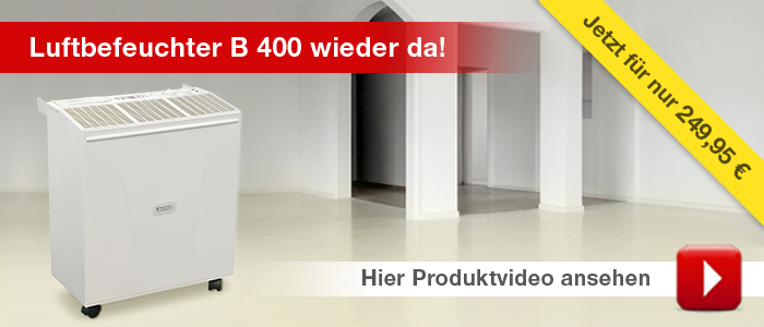 Luftbefeuchter Trotec B 400