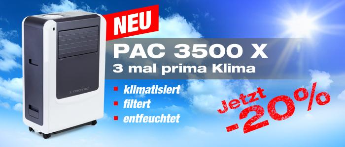 Klimagerät PAC 3500 X - NEU