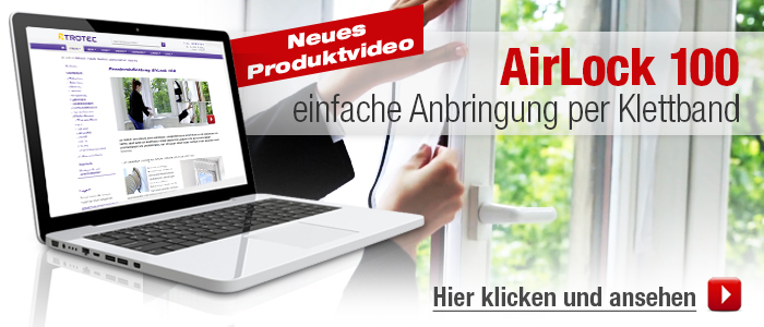 Fenasterabdichtung Airlock 100 - Youtube Video