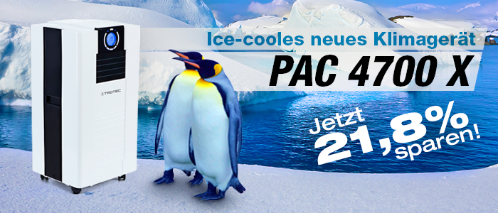 Klimagerät PAC 4700 X - NEU