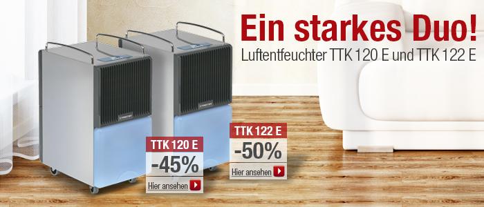 Luftentfeuchter TTK 120 E, TTK 122 E