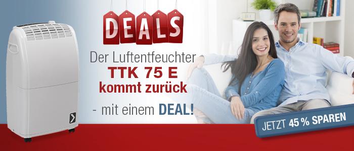 Luftentfeuchter TTK 75 E  - DEAL!