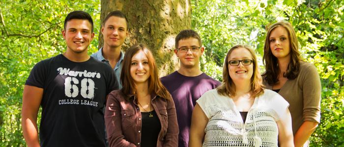 Willkommen im Team Trotec - Die neuen Azubis 2014