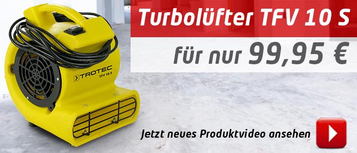 Turbolüfter TFV 10 S – jetzt im Produktvideo