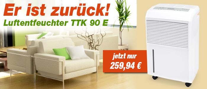Luftentfeuchter TTK 90 E im Trotec Shop