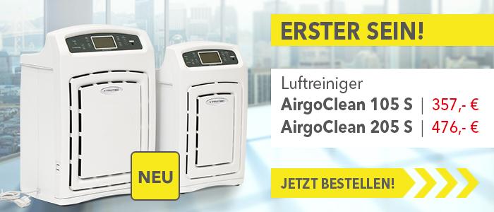 Neu: AirgoClean Luftreiniger – der Hightech-Standard