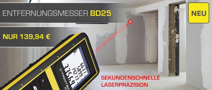 Entfernungsmesser BD25 im Trotec Shop