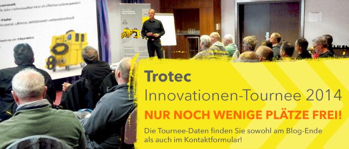 Trotec Innovationen-Tournee 2014