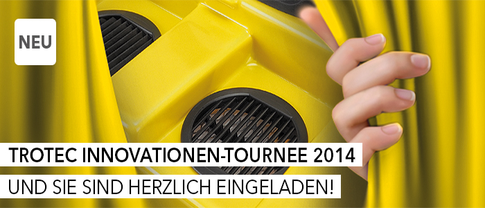 Trotec Innovationen Tournee 2014