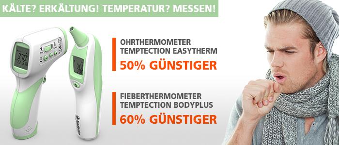 Fieberthermometer Temptection Bodyplus Easytherm