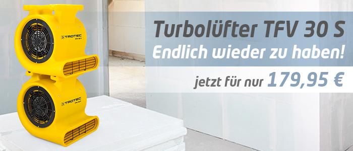 Ventilator Turbolüfter TFV 30 S