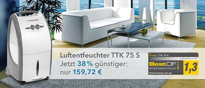 Luftentfeuchter TTK 75 S im Trotec Shop