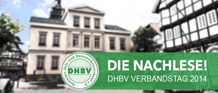 DHBV Verbandstag 2014 - Die Nachlese