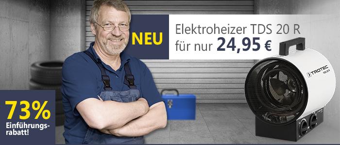 Elektroheizer TDS 20 R