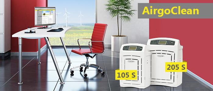 neue airgoclean luftreiniger hightech gegen feinstaub. Black Bedroom Furniture Sets. Home Design Ideas