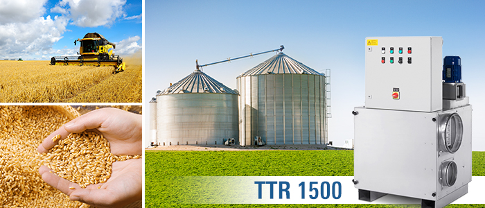 Adsorptions-Trocknungsaggregat der TTR-Serie