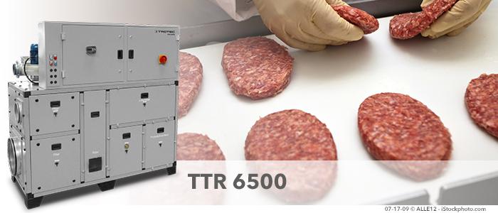 Entfeuchtung Fleischindustrie