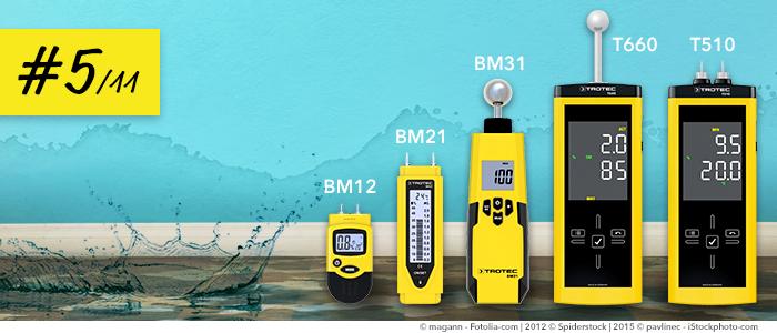 Die Richtige Feuchte Messung Nach Wasserschaden Trotec Blog