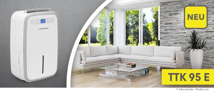 neu luftentfeuchter ttk 95 e die optimale trocknungsl sung f r gro e r ume trotec blog. Black Bedroom Furniture Sets. Home Design Ideas
