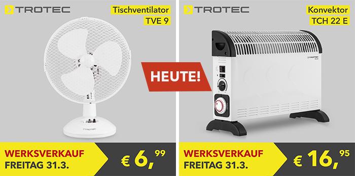 Trotec-Werksverkauf