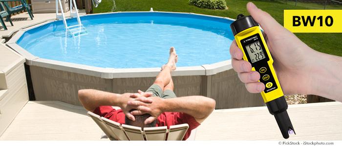 pH-Messgerät BW10 – so überprüfen Sie die Wasserqualität in Ihrem Pool